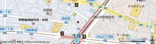 エルシドダンシングクラブ周辺の地図