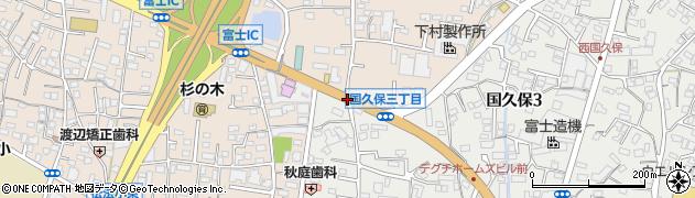 浅間上町周辺の地図