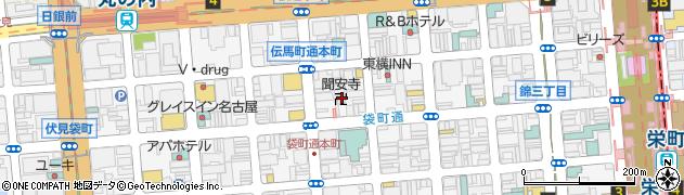 聞安寺周辺の地図