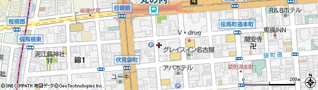株式会社升半茶店周辺の地図