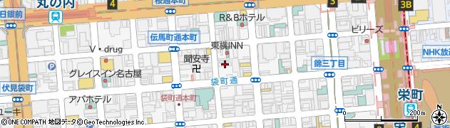 合資会社魚長商店周辺の地図