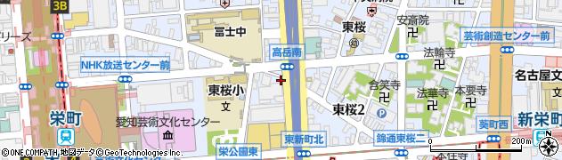 まごころ弁当本店周辺の地図