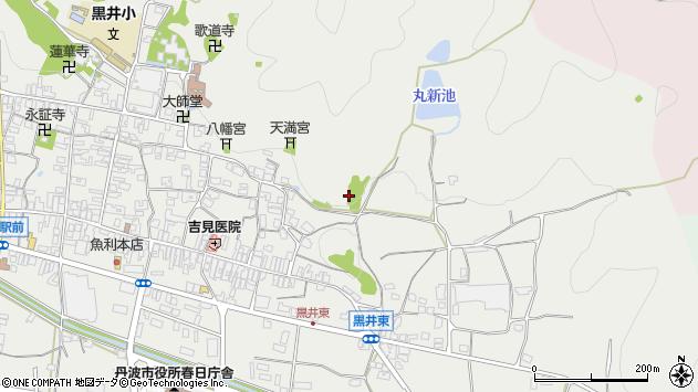 〒669-4141 兵庫県丹波市春日町黒井の地図