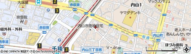 ゲッカ(gecca)周辺の地図
