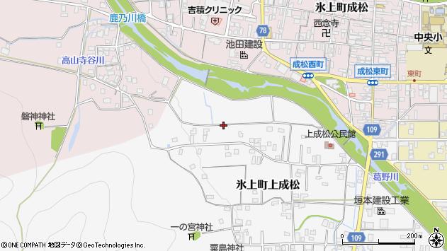 〒669-3606 兵庫県丹波市氷上町上成松の地図