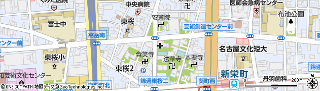 梅屋寺周辺の地図