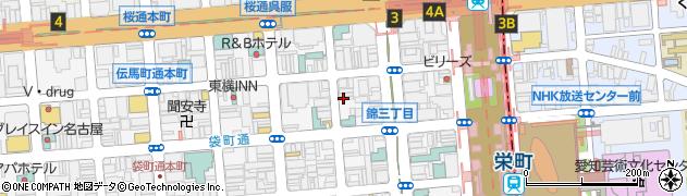 ライズ(rise)周辺の地図