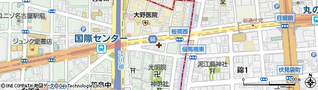 かがり周辺の地図