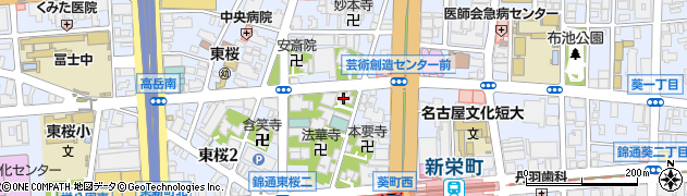法輪寺周辺の地図