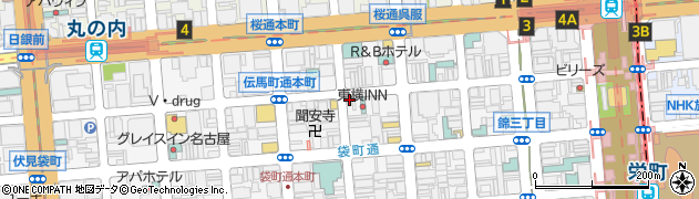 バニヤンツリー周辺の地図