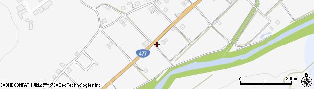京都府京都市右京区京北鳥居町(宇川)周辺の地図