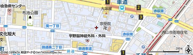 ユキ周辺の地図
