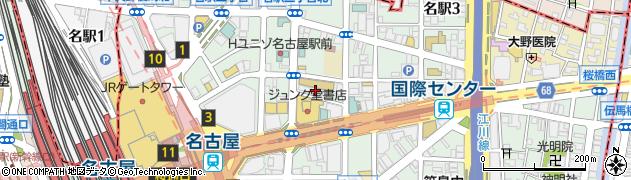旬蔵名駅はなれ店周辺の地図