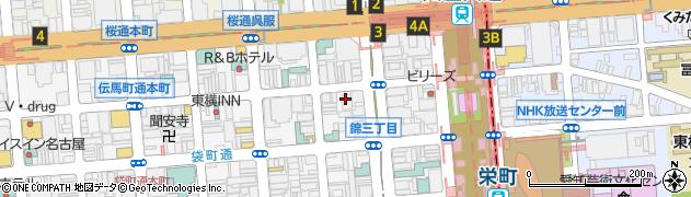 シークラブ錦店周辺の地図