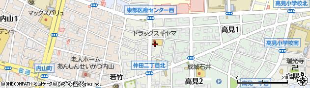 辰鮨 第二支店周辺の地図