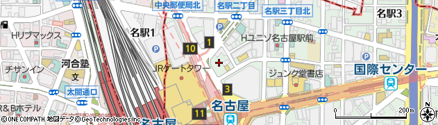 ベルヘラルドメイチカ店周辺の地図