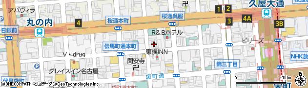 澗羅周辺の地図