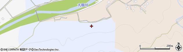 京都府京都市右京区京北辻町(瀧ケ坂)周辺の地図