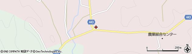 京都府京都市右京区京北熊田町(縄手ノ下)周辺の地図