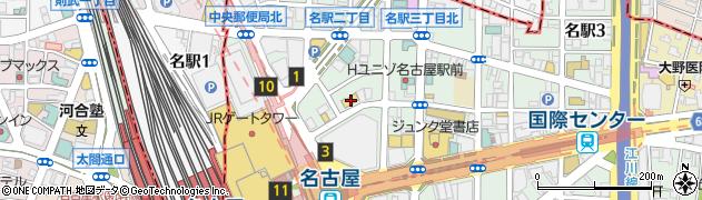 鉄板懐石宴別邸旬周辺の地図