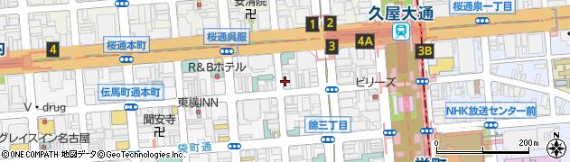 グラン・クリュ周辺の地図