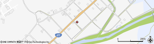 京都府京都市右京区京北鳥居町(赤穂田)周辺の地図