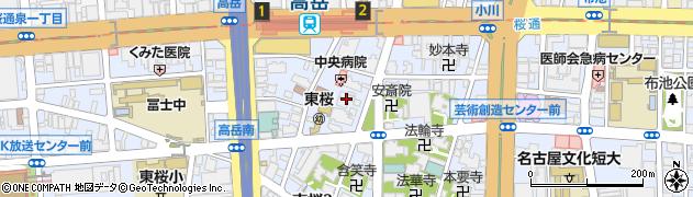 東充寺周辺の地図