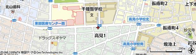 ステーキハウス加津味周辺の地図