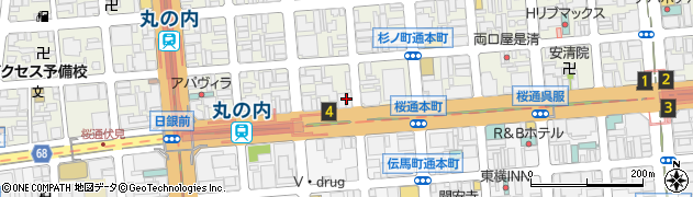 わさび周辺の地図