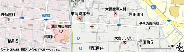 いろり庵周辺の地図