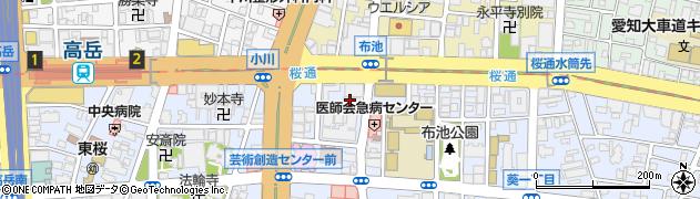 法善寺周辺の地図