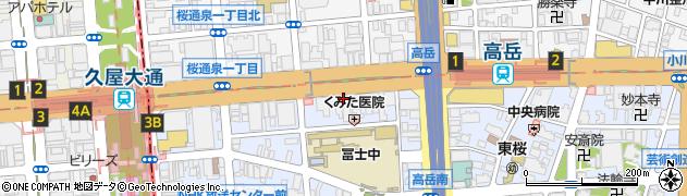 冨士神社周辺の地図