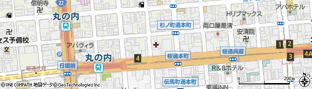 まがり屋周辺の地図