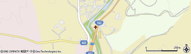 京都府京都市右京区京北五本松町(下八面田)周辺の地図