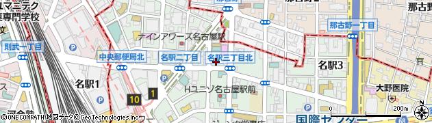 BAR・LW周辺の地図