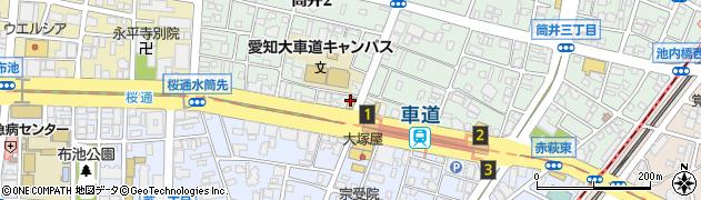 カラオケ喫茶ひだ周辺の地図