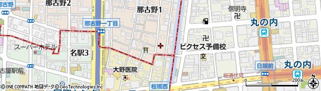 ホテーフーヅ株式会社周辺の地図
