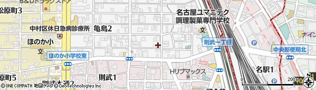 フジシゲ食品周辺の地図