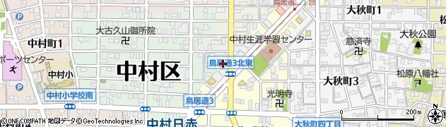 いちわ周辺の地図