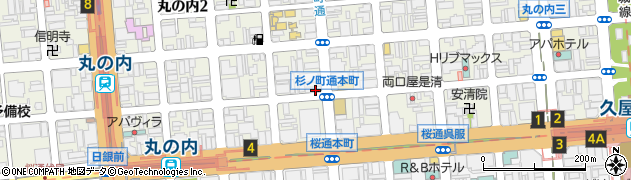 ほっともっと丸の内本町通店周辺の地図