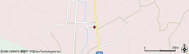 京都府京都市右京区京北熊田町(坊ノシタ)周辺の地図