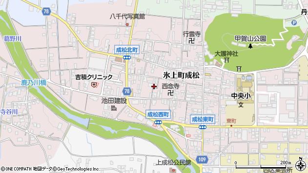 〒669-3601 兵庫県丹波市氷上町成松の地図