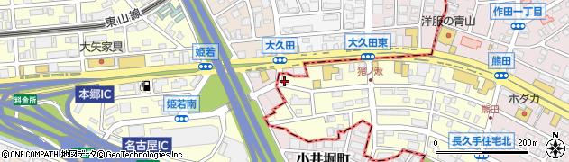 サガミ藤ヶ丘店周辺の地図