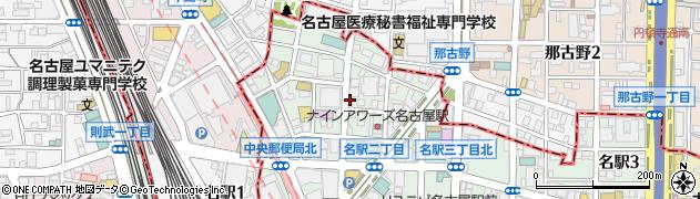 一心周辺の地図