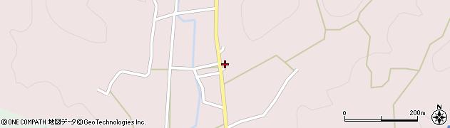 京都府京都市右京区京北熊田町(坊)周辺の地図