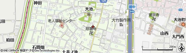 愛知県大治町(海部郡)西條(南屋敷)周辺の地図
