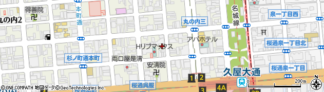 愛カレー周辺の地図