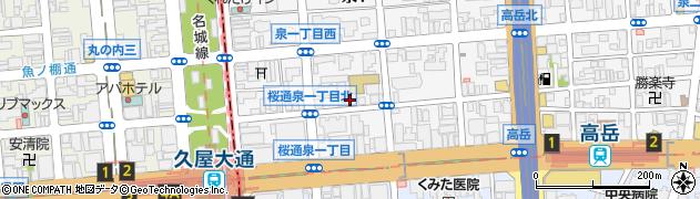 萬年寿司周辺の地図