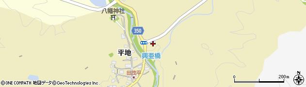 愛知県豊田市田茂平町(川端)周辺の地図