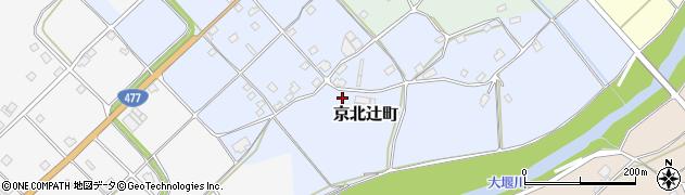京都府京都市右京区京北辻町周辺の地図